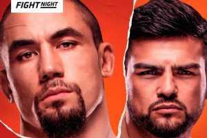 Кард турнира UFC on ESPN 22
