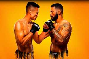 Кард турнира UFC on ESPN 25