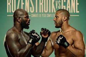 Кард турнира UFC Fight Night 186