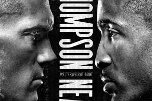 Кард турнира UFC Fight Night: Thompson vs Neal