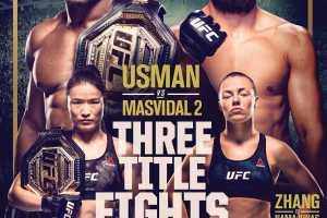Кард турнира UFC 261