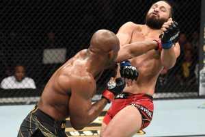 Результаты турнира UFC 261