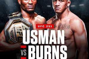 Официально: на турнире UFC 251 пройдет три титульных боя