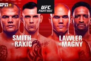 Результаты UFC Fight Night 175: Smith vs Rakic