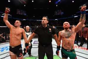 Конор Макгрегор vs Нейт Диаз: Лучшая дилогия в истории UFC