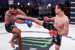 Усман Нурмагомедов одержал победу в дебютном поединке под эгидой Bellator