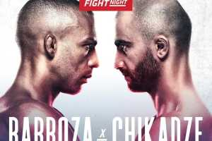 Кард турнира UFC on ESPN 30