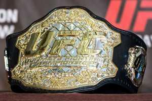 Чемпионский пояс ММА: история появления