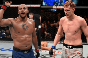Бой Александр Волков – Сирил Ган станет главным событием UFC Fight Night