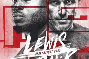 Кард турнира UFC Fight Night 174: Льюис – Олейник