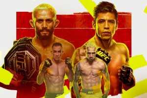 Кард турнира UFC 256