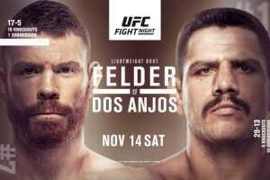 Результаты турнира UFC Fight Night 183: Felder vs Dos Anjos