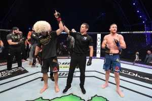 Реакции бойцов на победу и завершение карьеры Хабиба
