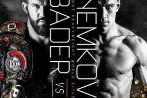 Кард турнира Bellator 244: Бейдер vs Немков