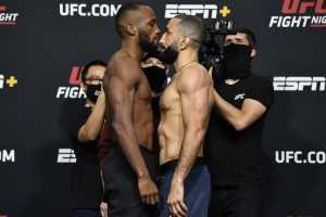Результаты UFC Vegas 21
