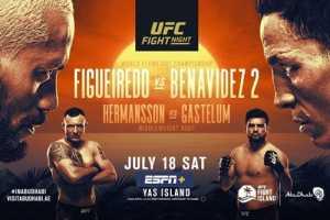 Результаты UFC Fight Island 3