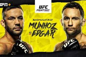 Кард турнира UFC on ESPN 15: Эдгар vs Муньос