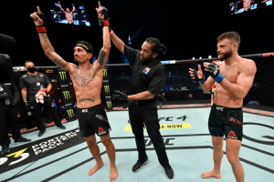 Результаты турнира UFC Fight Island 7