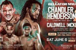 Второй бой Майкла Чендлера и Бенсона Хендерсона станет главным событием турнира Bellator 243