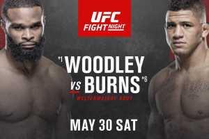Турнир UFC Fight Night 172: Вудли – Бернс в Лас-Вегасе анонсирован официально