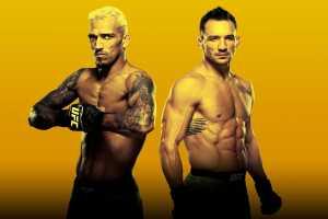 Кард турнира UFC 262