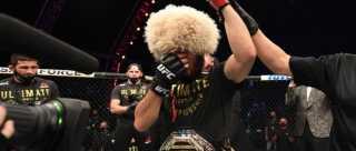 Обзор 2020 года в UFC
