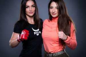 Российские девушки бойцы ММА