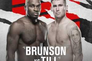 Кард турнира UFC Fight Night 191