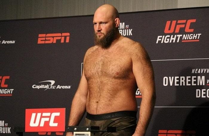 Бен Ротвелл - боец UFC: биография, статистика и видео лучших боёв