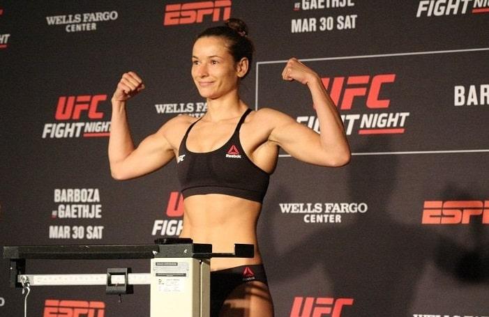 Марина Мороз - боец UFC: биография, статистика и видео боёв