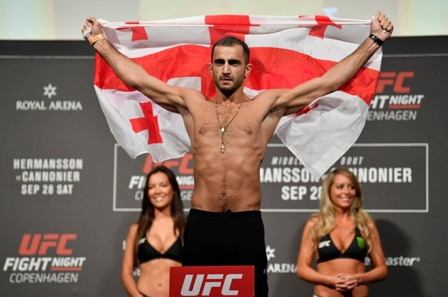 Гига Чикадзе - боец UFC: статистика боёв, видео поединков, биография