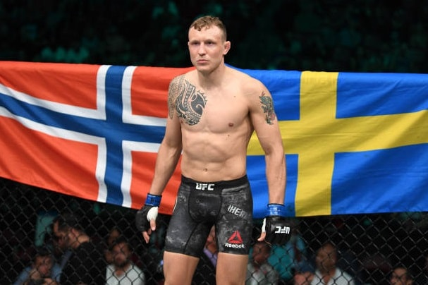 Джек Херманссон - боец UFC: статистика боёв, биография и видео лучших поединков