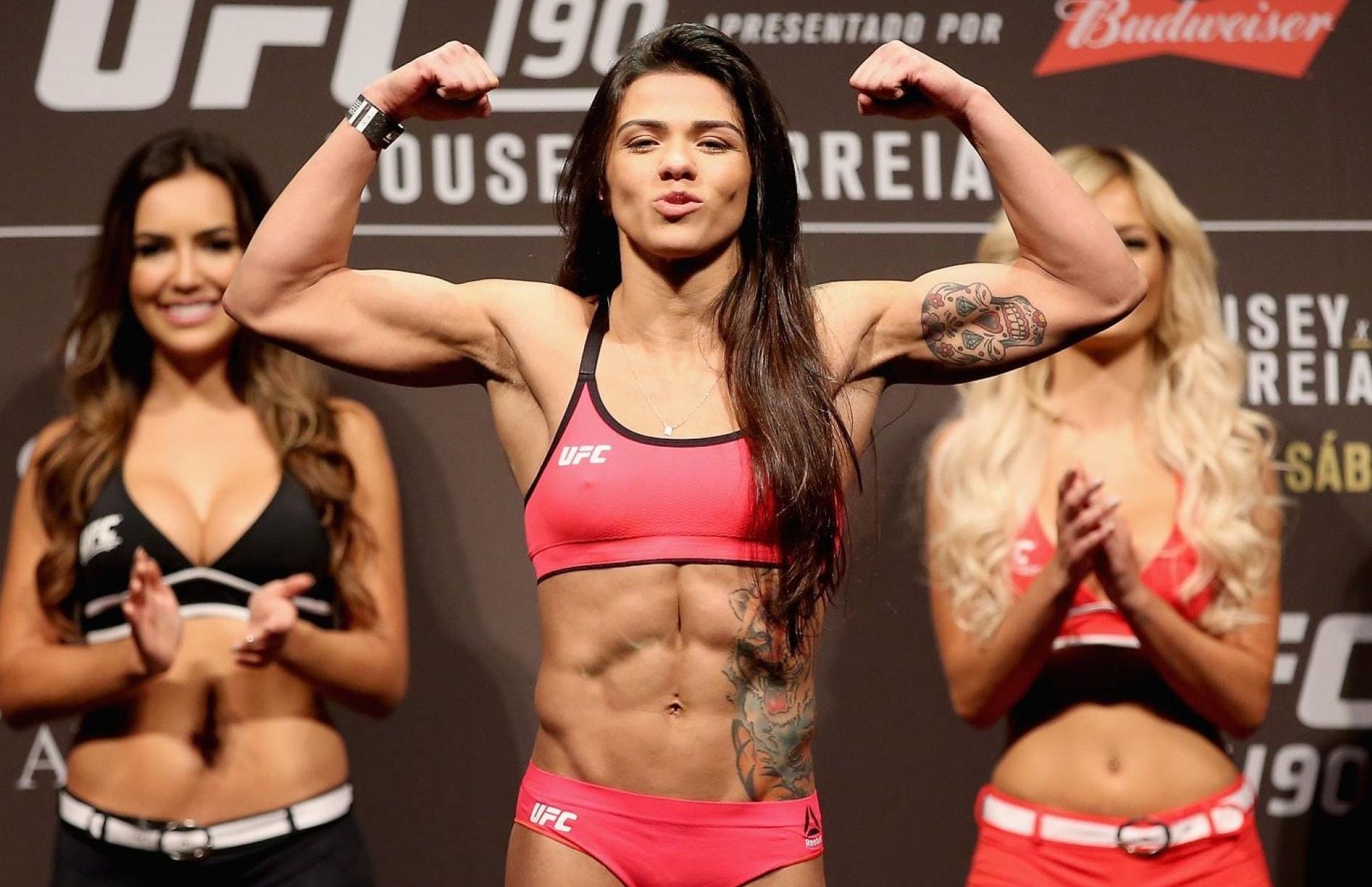 Клаудия Гаделья - топ-боец MMA в UFC: биография, статистика и видео лучших боёв