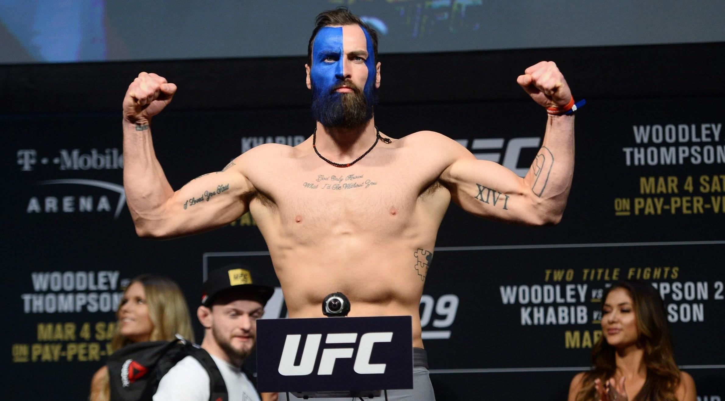 Пол Крейг - боец полутяжелого веса UFC: биография, карьера, статистика и видео боёв