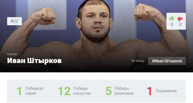 Исмаилов – Штырков прогноз
